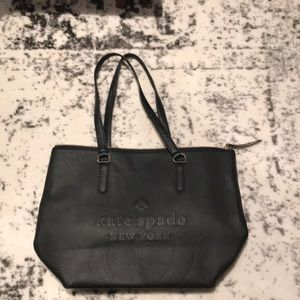 Kate spade made leather tote